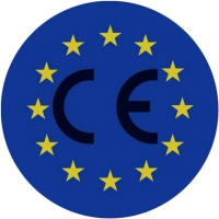 CE marking, mandatory as of July 2014